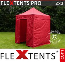 Folding canopy 3x6 m White, incl. 6 sidewalls