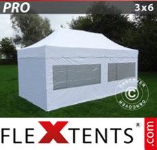 Folding canopy 4x4 m Red