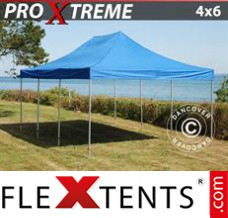 Folding canopy 4x6 m Red