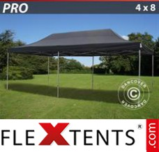 Folding canopy 2.5x2.5 m Red, incl. 4 sidewalls