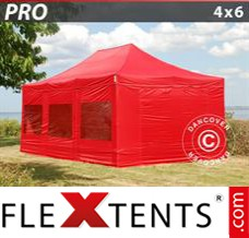 Folding canopy 2.5x2.5 m Red