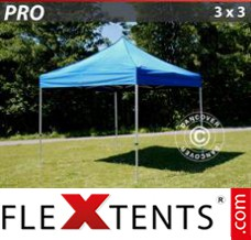 Folding canopy 2x2 m White, incl. 4 sidewalls